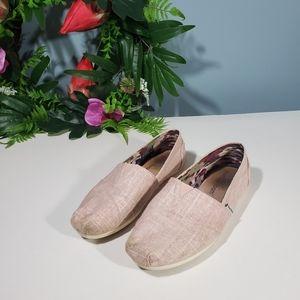 Skechers Memory Foam pink Flats size 7.5